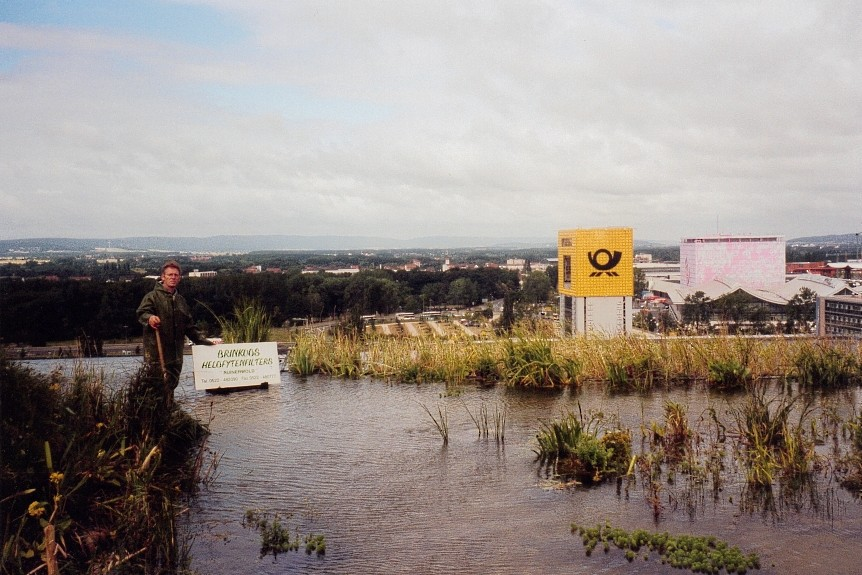 Expo 2000 - Hannover - waterzuivering dak